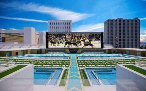 Casino Circa Las Vegas pool