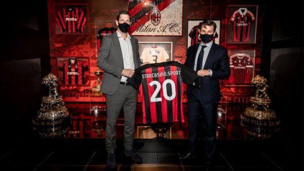 Футбольный клуб «Милан» продлил сотрудничество со StarCasinò.sport