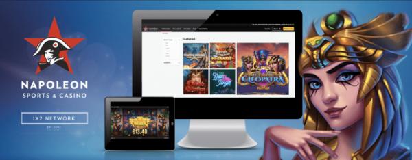1X2 Network интегрирует свои игры с казино Napoleon