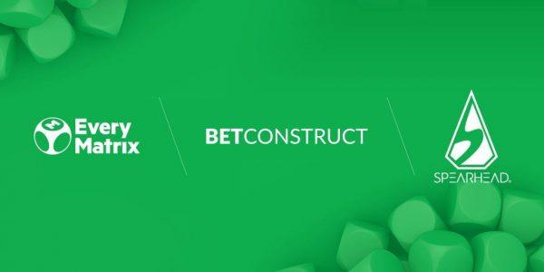 BetConstruct, EveryMatrix и Spearhead Studios стали партнерами