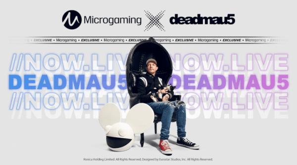 Новая игра deadmau5 от Microgaming
