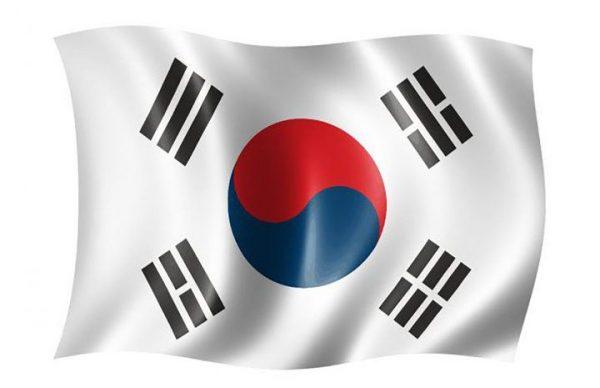 Корея флаг