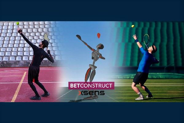 BetConstruct использует технологию MoCap Xsens для виртуального спорта