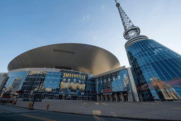 Bridgestone Arena - дом The Nashville Predators