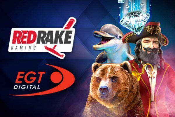 EGT DIGITAL партнер Red Rake Gaming