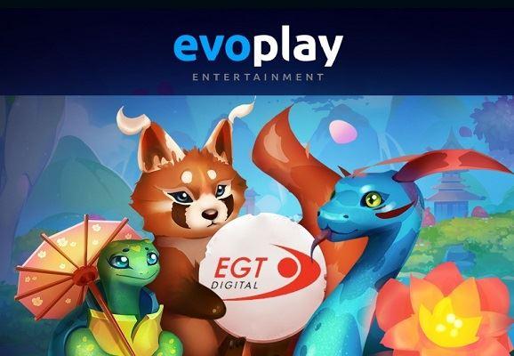 evoplay сотрудничает с egt-digital