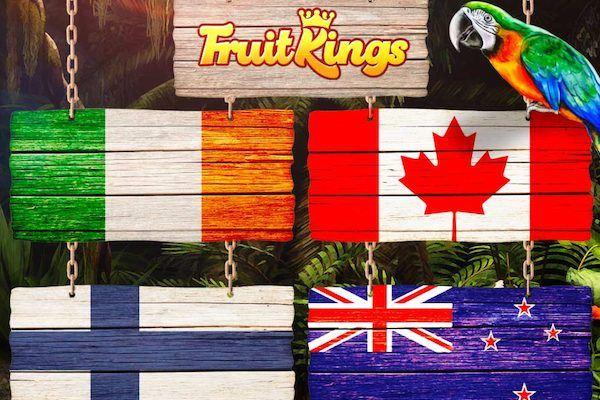 Онлайн казино fruitkings теперь доступно еще в 4 странах
