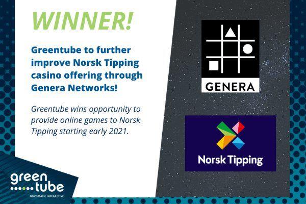 Greentube, Genera выиграли тендер Тorsk tipping на обеспечение VLT