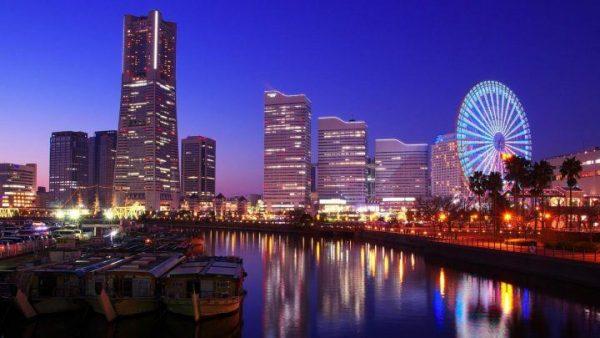 Night Yokohama