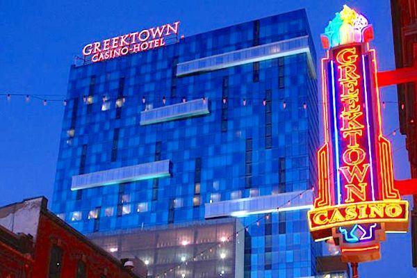 Penn National Barstool в Greektown-Casino-Hotel