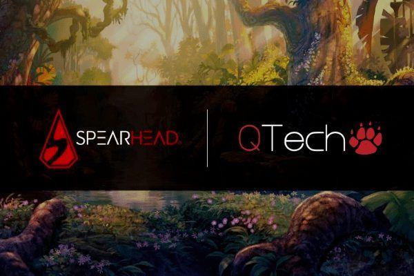 Qtech games заключили партнерство со Spearhead
