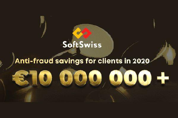 SoftSwiss сэкономил своим клиентам более 10 миллионов евро в 2020 году с помощью службы по борьбе с мошенничеством