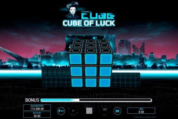 Трехмерный слот Cube of Luck от BF Games