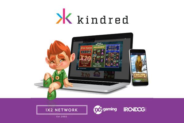1X2 Network и Kindred Group объединяют усилия