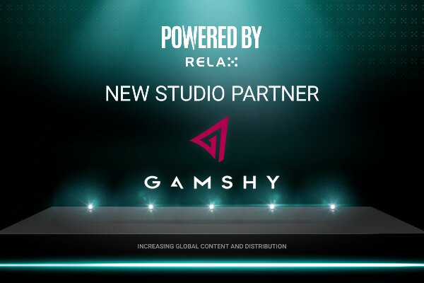 Gamshy присоединились к партнерской программе Powered by Relax