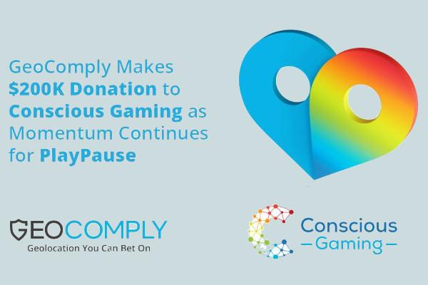 GeoComply сделали пожертвование фонд Ответственной игры