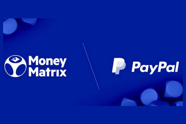 MoneyMatrix сделали доступным PayPal в 15 странах