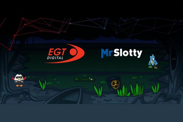 MrSlotty в прямом партнерстве с EGTDIGITAL
