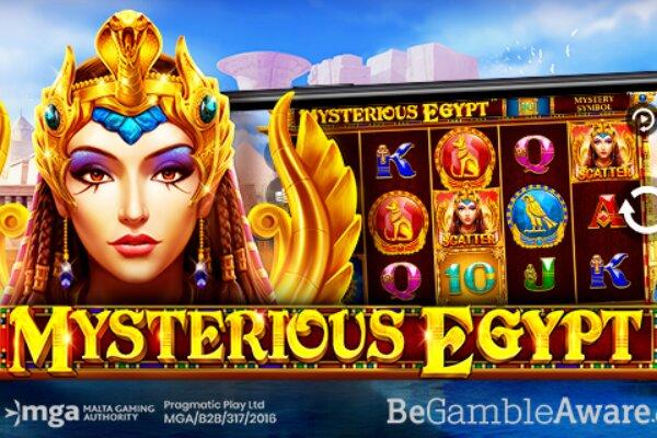 MYSTERIOUS EGYPT новый слот Pragmatic Play