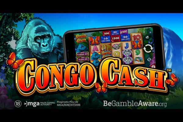Новый слот от Pragmatic Play - Congo Cash