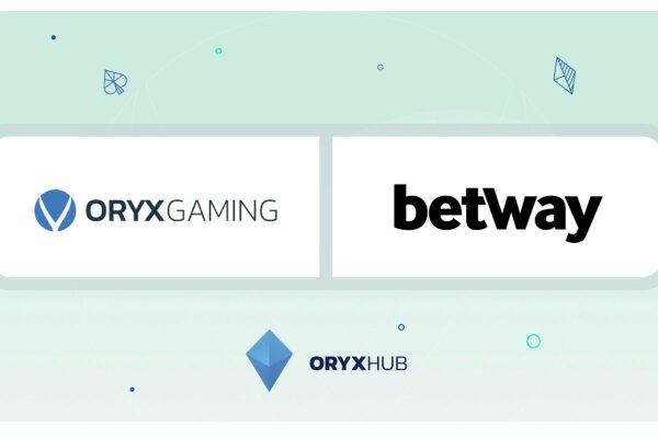 ORYX Gaming будет поставлять контент с betway