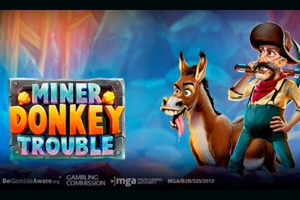 Play'N Go выпустили слот Miner Donkey Trouble