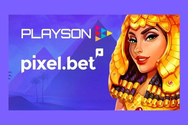 playson заключили партнерство с pixelbet