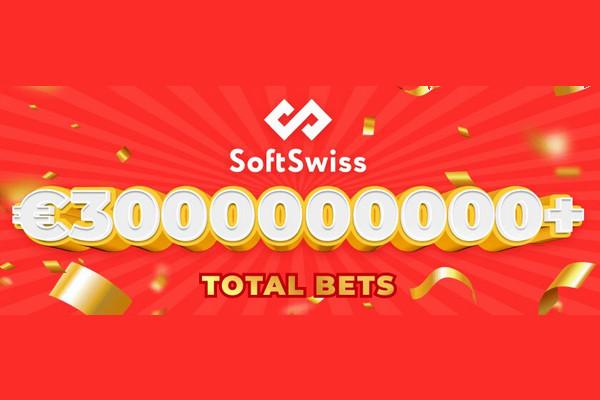 SoftSwiss превысили 3 млрд евро по объему ставок
