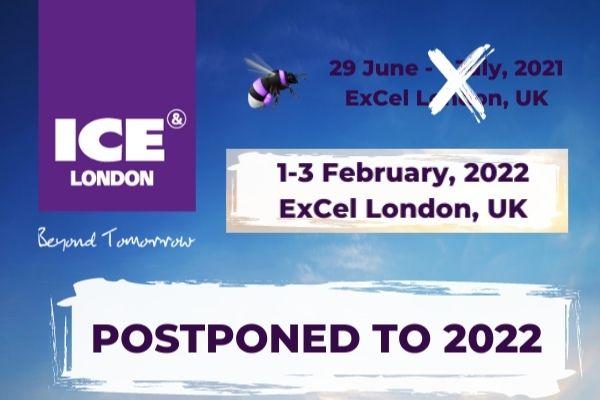 ICE London переносится на 2022 год