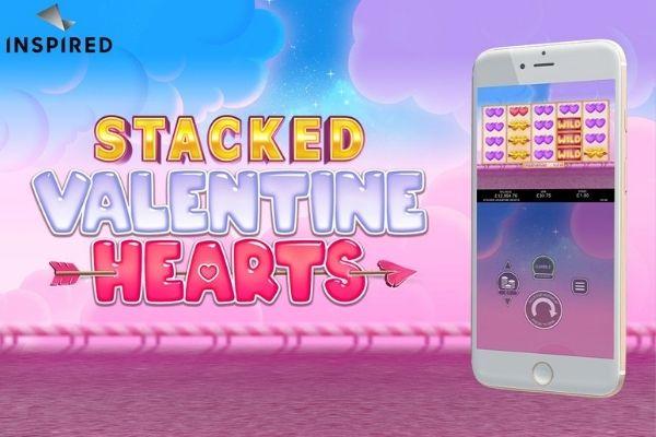 Stacked Valentine Hearts