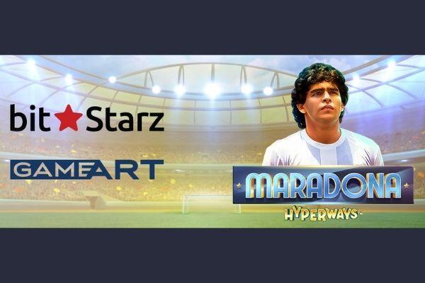 Игра Maradona HyperWays от GameArt будет доступна в казино BitStarz за неделю до официального релиза