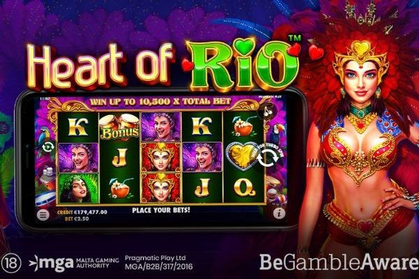 Pragmatic Play приглашает на карнавал с Heart of Rio