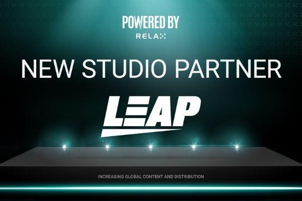 Relax Gaming представляет Leap Gaming в качестве нового партнера студии
