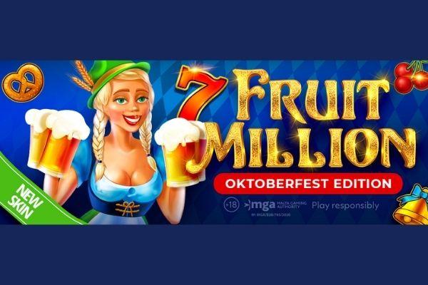 Игровой Автомат Fruit Million от BGaming Меняет свой Облик на Баварский